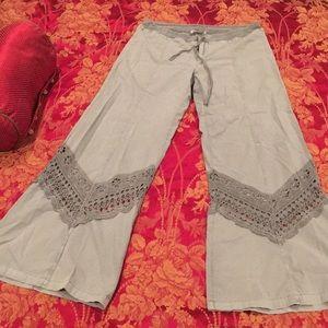 Bohemian style pants size 12